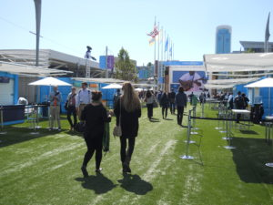 Dreamforce 2015 at Moscone Center San Francsico setup and show days.